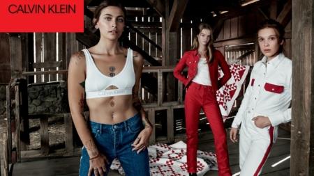 Calvin Klein Jeans campagna primavera 2018: Millie Bobby Brown, Paris Jackson e Lulu Tenney