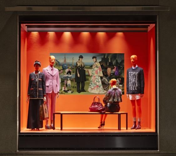 Gucci vetrine primavera estate 2018: le opere di Ignasi Monreal e il nuovo progetto digital