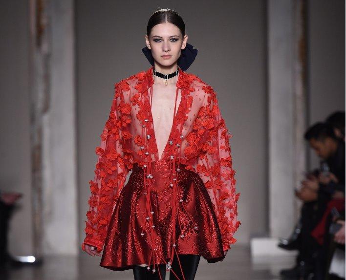 Tendenze moda donna autunno inverno 2018 2019 PICCIONE.PICCIONE  l arte di  Kandinskij View Gallery (6 images) 8a24ccd23242