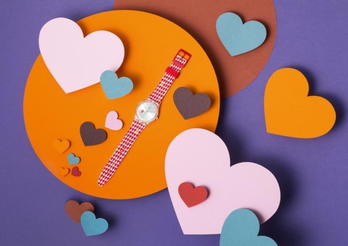 San Valentino regali 2018 Swatch: Hearty Love, l'edizione limitata dedicata agli innamorati