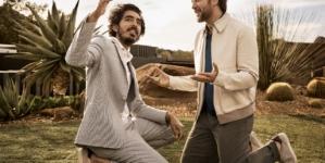 Ermenegildo Zegna Javier Bardem e Dev Patel: la nuova campagna Defining Moments