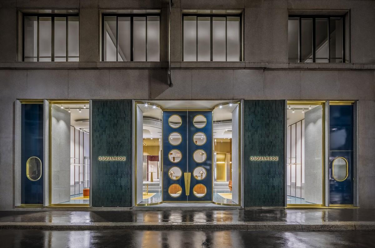 Dsquared2 Milano via Verri  riapre lo storico flagship store con un nuovo  concept View Gallery (16 images) b50d7d7fbc4e