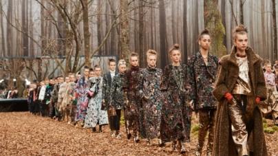 Chanel collezione ready to wear autunno inverno 2018 2019: la natura rigenerante