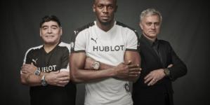 Hublot Partita dell'Amicizia 2018 Baselworld: Usain Bolt, Diego Maradona e José Mourinho