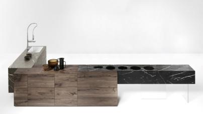 Salone del Mobile 2018 Lago Design: la nuova cucina Fusion Kitchen