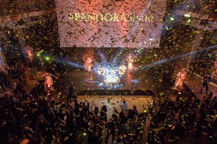 Pandora Shine 2018: la nuova collezione e il party a Milano