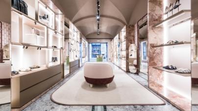 Sergio Rossi Via dei Condotti Roma: aperta la nuova boutique, il party con Valeria Golino