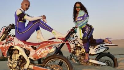 Fenty Puma by Rihanna primavera estate 2018: le vibrazioni beach chic e motorsport