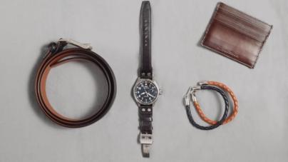 Santoni IWC Schaffhausen: i nuovi accessori in pelle