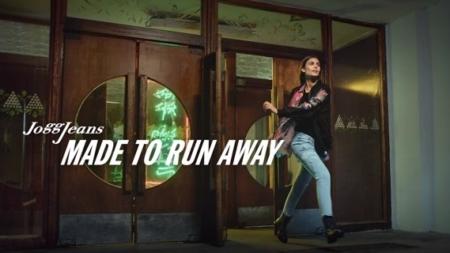 Diesel campagna JoggJeans 2018: #MadeToRunAway