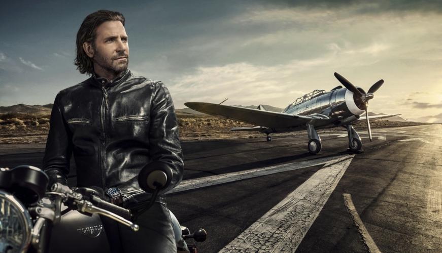 Bradley Cooper IWC Schaffhausen campagna 2018: spirito libero e audace