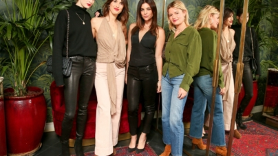 Paris Fashion Week 2018 J Brand: la cena di gala con Julia Restoin-Roitfeld