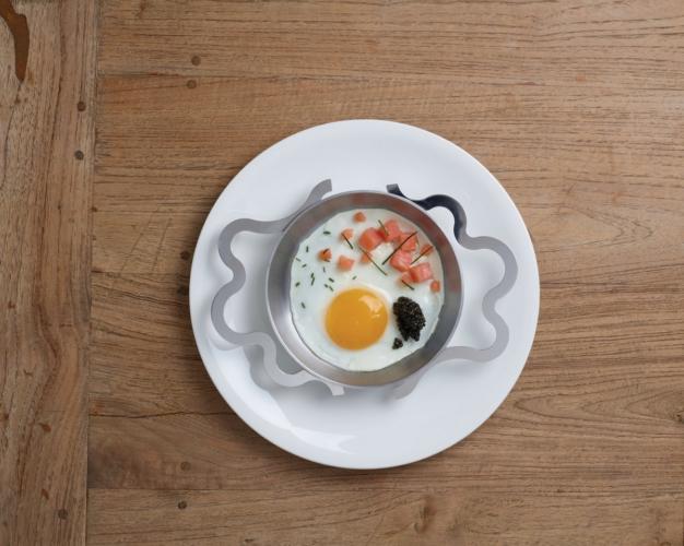 Tegamino Alessi Alessandro Mendini: la celebrazione dell'uovo