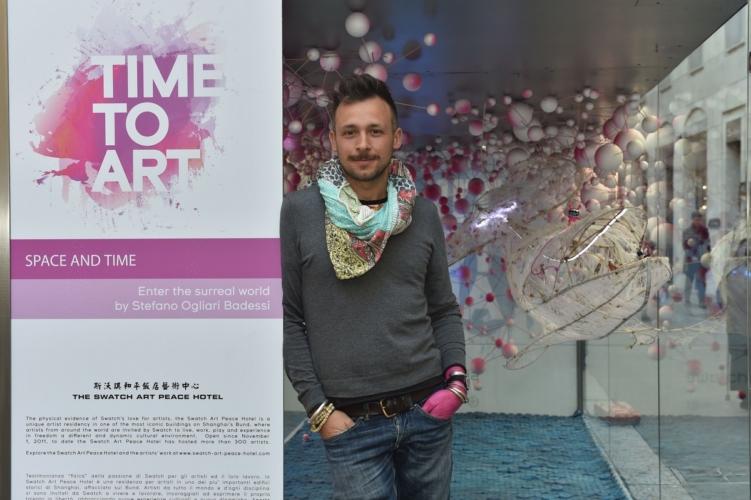 Swatch Time to Art Milano: 35 anni d'amore per l'arte in via Montenapoleone