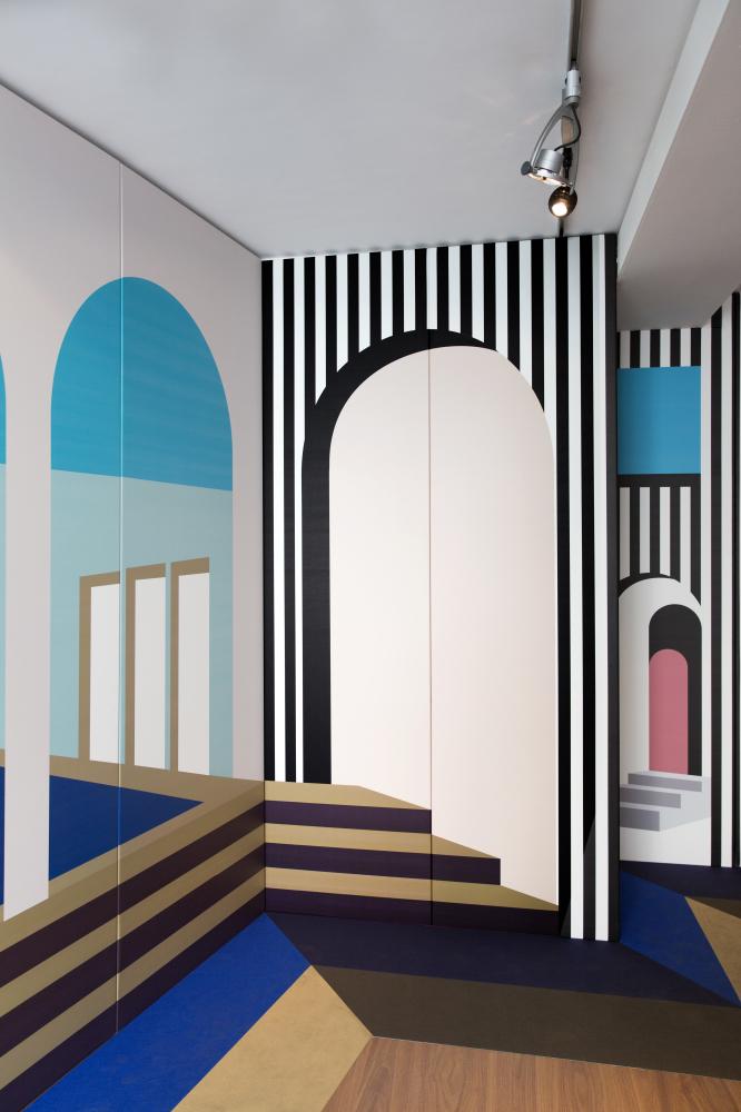 Milan design week 2018 palazzo stamskin serge ferrari for Design week milano 2019