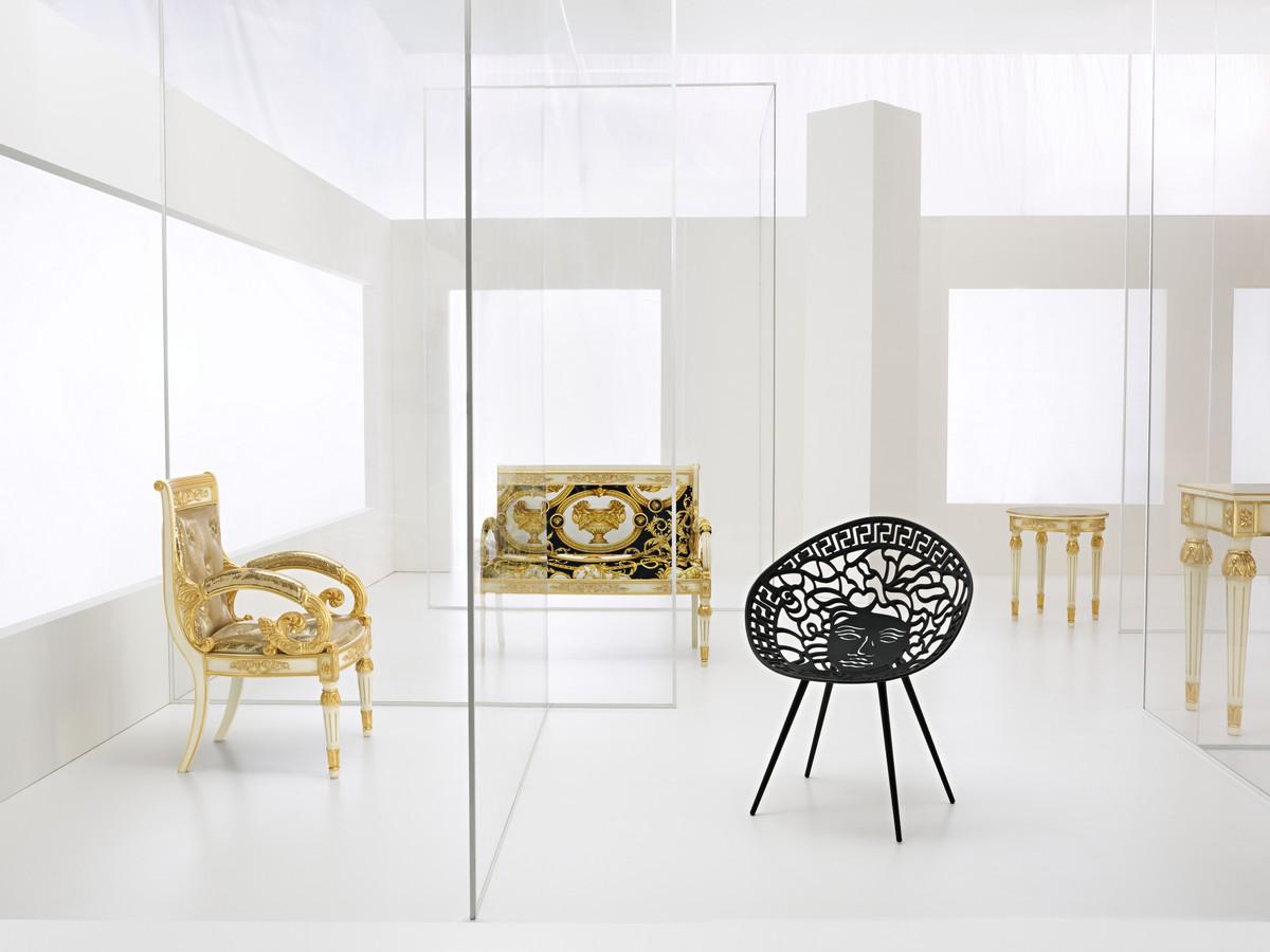Salone del mobile 2018 milano versace collezione home for Arredo bagno versace