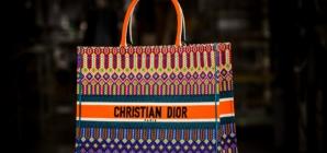 Dior borse estate 2018: il making of della Book Tote ricamata
