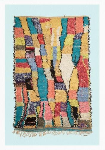 Fuorisalone 2018 Malìparmi: la nuova collezione di tappeti berberi Boucherouite