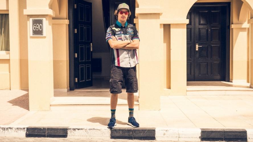 Lumberjack MotoGP Franco Morbidelli: official sponsor del Team Estrella Galicia 0,0 Marc VDS