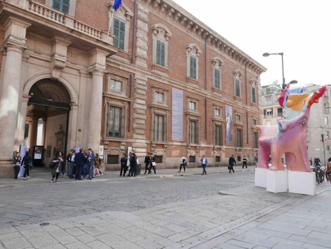 Art Basel giugno 2018 Gaetano Pesce: l'opera Sedia Portaritratti