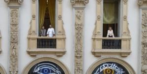 Carlo Cracco ristorante Galleria Milano: Heterochromic(Rosa e Carlo) firmata da Patrick Tuttofuoco