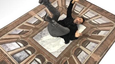 Salone del Mobile 2018 Milano Illulian: Sottosopra I, il tappeto firmato da Fabio Novembre