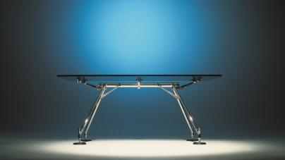 Fuorisalone 2018 Tecno: i 30 anni di Nomos, il tavolo icona firmato da Norman Foster