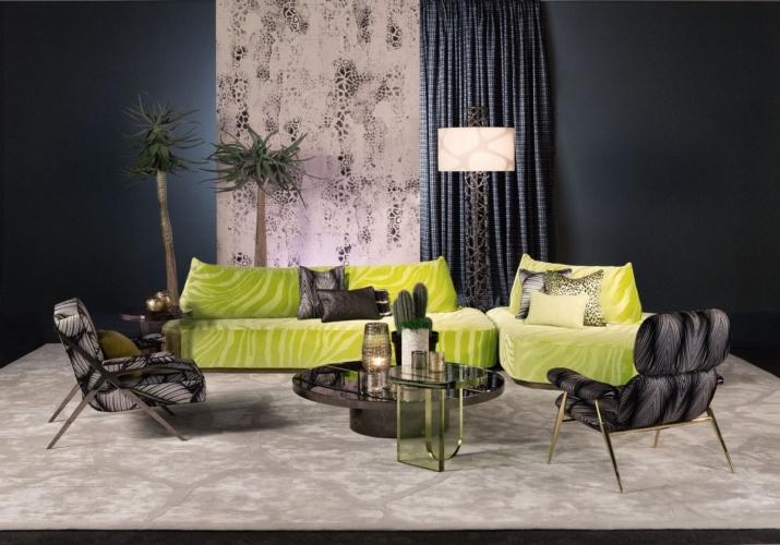Salone del Mobile 2018 Milano Roberto Cavalli Home: la collezione Tropical Glam
