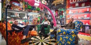 Seletti collezione 2018: Cora Lamp e Sexy Boy Lazy Chair di Studio Job, le novità