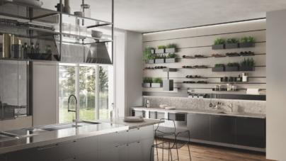 Salone del Mobile 2018 Milano Scavolini: la nuova cucina Mia by Carlo Cracco