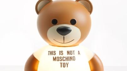 Salone del Mobile 2018 Milano Kartell: Toy, la lampada Teddy Bear con Moschino