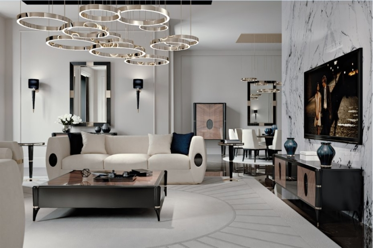 Interior design lusso moderno francesco pasi made to for Design moderno interni