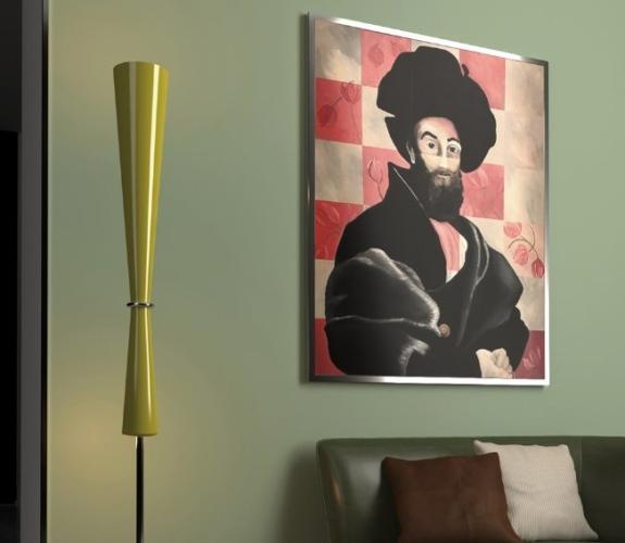 Milan Design Week 2018 Attilio Ladina: la lampada b e il restyling della Gigi Lamp