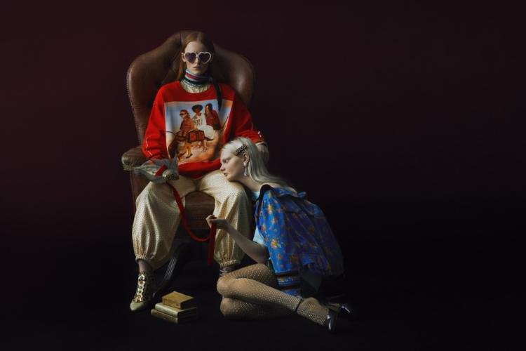 Gucci capsule collection Ignasi Monreal: #GucciHallucination, la linea in edizione limitata