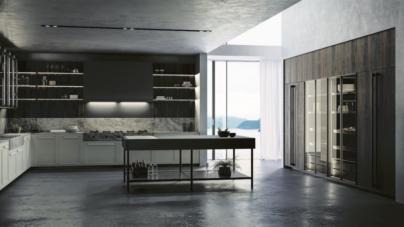 Effeti cucine 2018: E0 e Impronta, rivestimenti prestigiosi e superfici raffinate