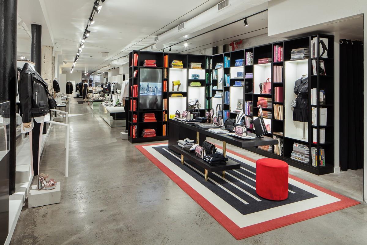 karl lagerfeld new york nuova boutique soho foto. Black Bedroom Furniture Sets. Home Design Ideas