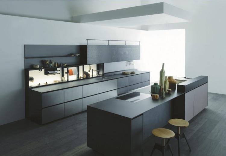 Cucine moderne 2018 valcucine novit salone del mobile for Cucine valcucine