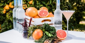 Belvedere Vodka Milano DrinkPink: la nuova signature cocktails collection immersi in un magico garden di pompelmi rosa