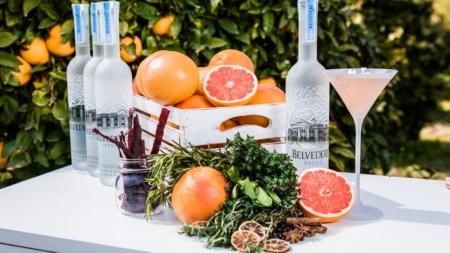 Belvedere Vodka Milano DrinkPink: la nuova signature cocktails collection immersi in un magico garden di pompelmi rosa
