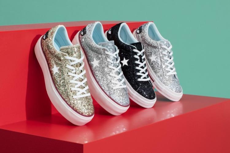 Converse Chiara Ferragni Collection sneakers 2018: le nuove scintillanti One Star