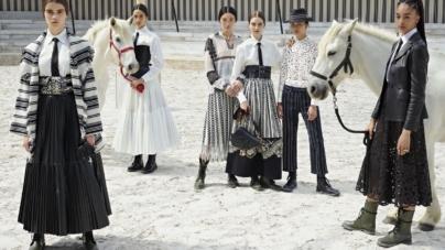 Dior collezione Cruise 2019: la forza delle donne e il rodeo messicano, la sfilata
