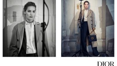 Dior Jennifer Lawrence campagna autunno 2018: le it bags della prossima stagione