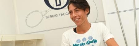 Internazionali Tennis Roma 2018: Francesca Schiavone veste Sergio Tacchini