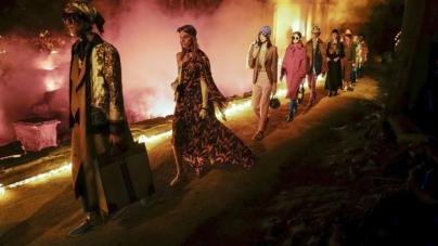 Gucci collezione Cruise 2019: l'anarchia estetica, special guest A$AP Rocky e Salma Hayek