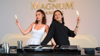 Festival di Cannes 2018 Magnum Bella Hadid Alexander Wang: la cooler bag in limited edition