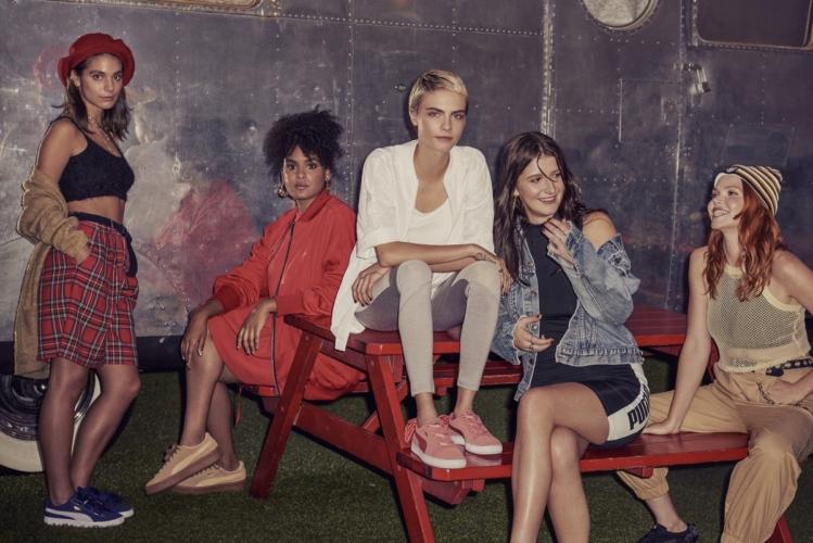 Puma Cara Delevingne Suede Bow 2018: la nuova sneaker rosa per l'estate
