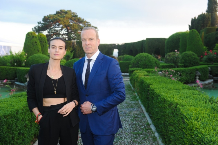 Rado orologi True Thinline Nature 2018: il party a Villa Gamberaia con Kasia Smutniak