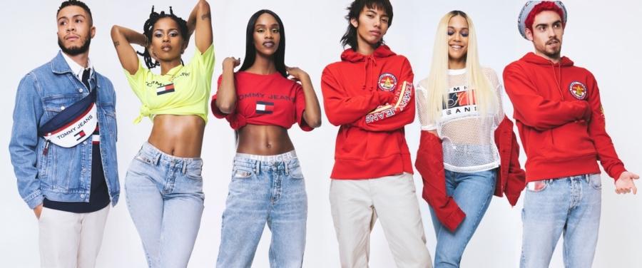 Tommy Hilfiger Jeans campagna primavera 2018: gli artisti emergenti celebrano il denim