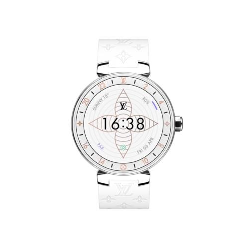 Louis Vuitton Tambour Horizon: il nuovo Monogram White per lo smartwatch di lusso