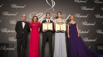 Festival di Cannes 2018 Trophée Chopard: Elizabeth Debicki e Joe Alwyn